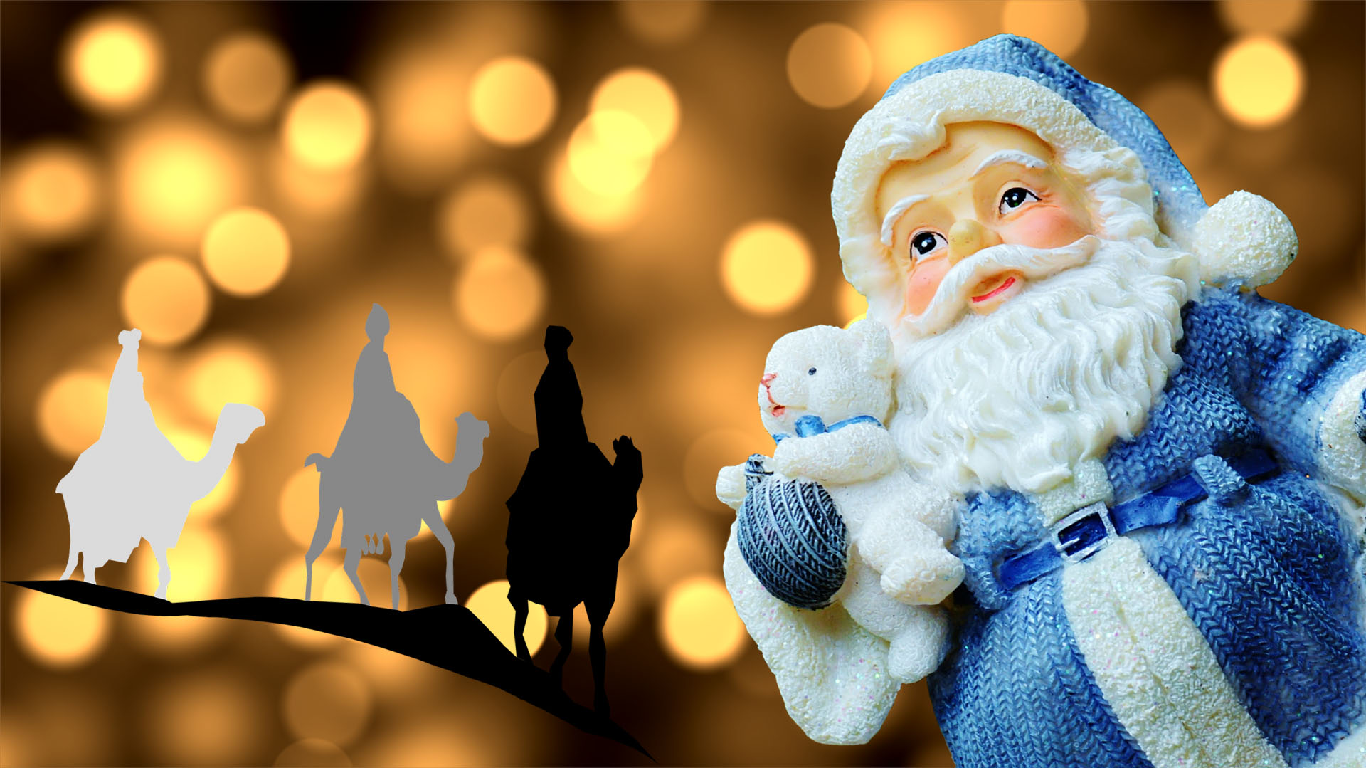 Papá Noel y los Reyes Magos, significado de regalos y juguetes