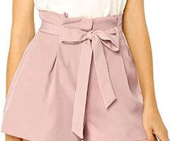pantalón corto mujer rosado