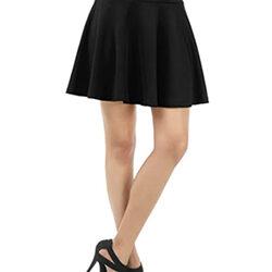 Mini falda al estilo de la mujer coreana
