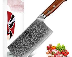 cuchillo de acero oriental