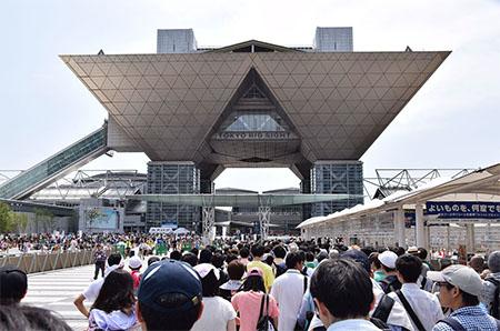Mercado de comics en Tokio